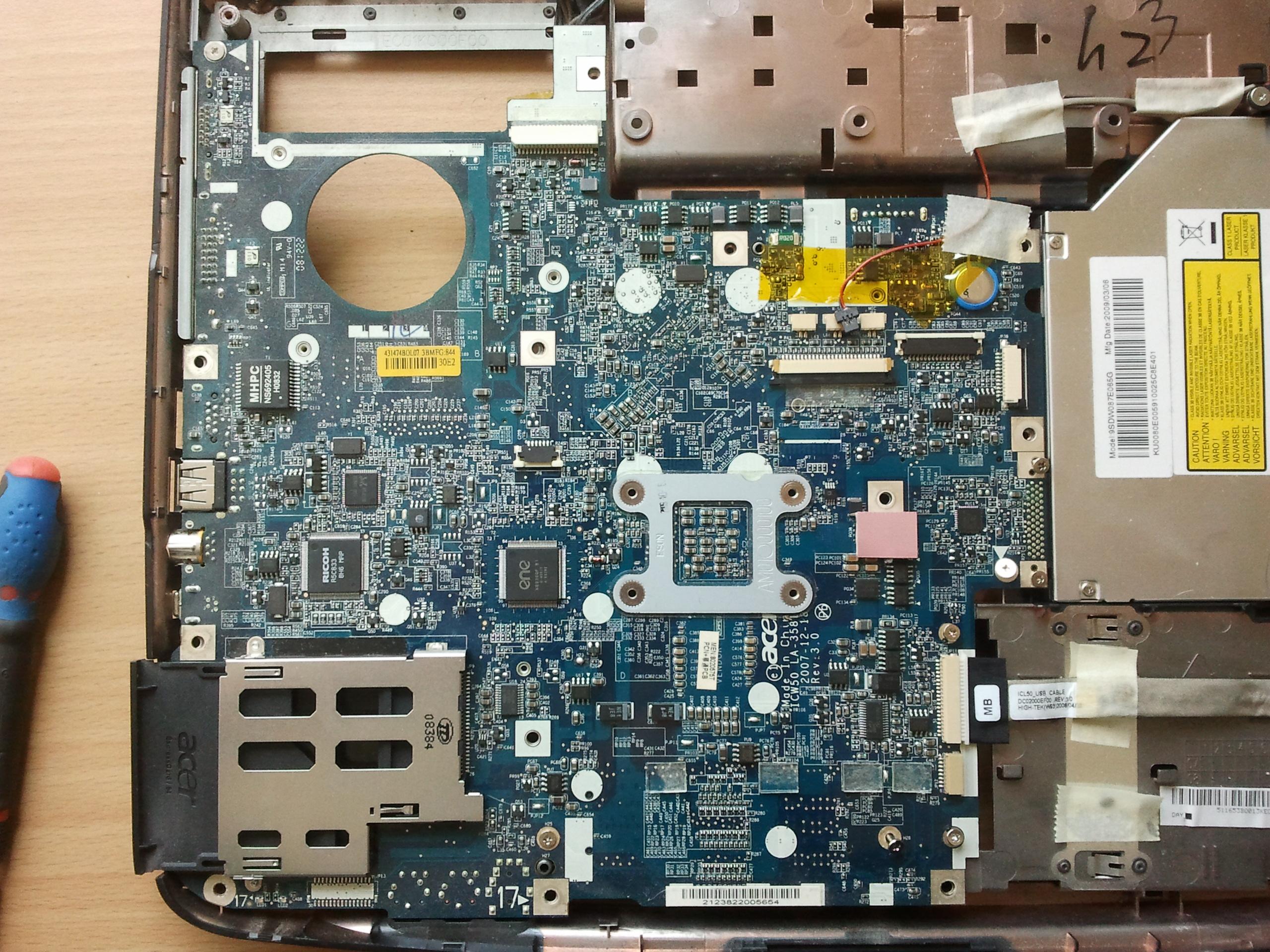 Acer Entegre Chip Arızası